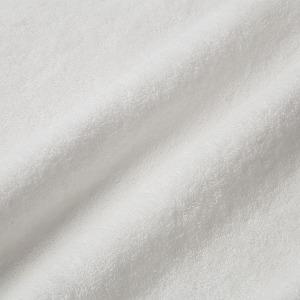 アイボリーのふわふわのタオル