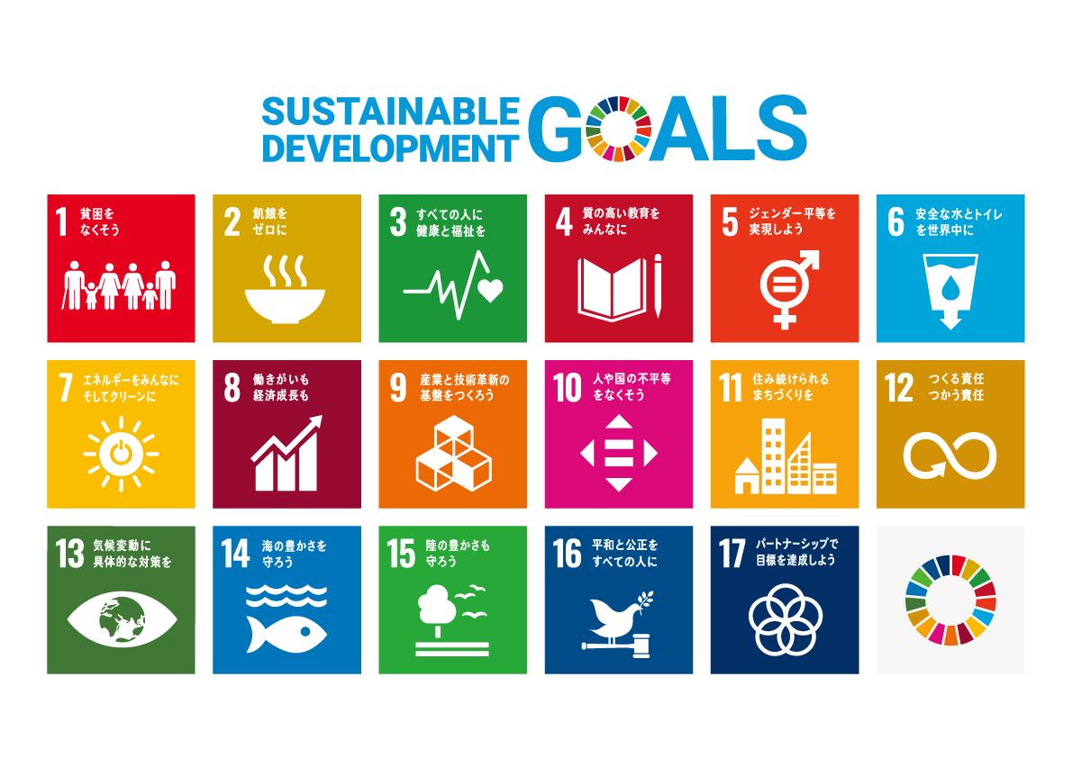 SDGs17の取り組み